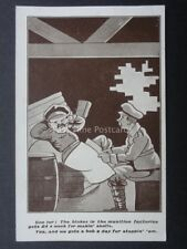 Military WW1 MUNITION FACTORIES AND ON THE FRONT - Old Postcard No.132