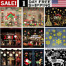 Merry Christmas Window Wall Sticker Decals Snowflake Santa Claus Home Xmas Decor