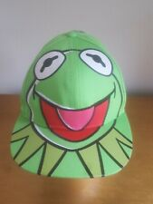 Muppets Kermit Face Cap Baseball Hat Large New with tag