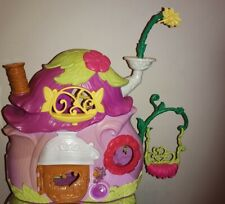 TINKERBELL HOUSE playset DISNEY FAIRIES pixie FAIRY Cottage & Funiture included