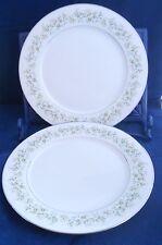 "Noritake China Dinner Plate 10 1/2"" lot of 2, Savannah Replacement Pieces 2031"
