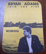 Brian Adams Into The Fire Backstage Pass Working -Otto-