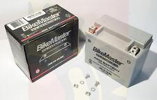 New BikeMaster Platnum 2 Sealed AGM Battery YTX12-BS Suzuki 1 Year Warranty