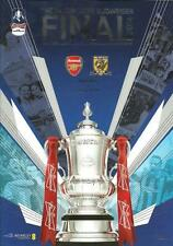 * ARSENAL v HULL CITY - 2014 FA CUP FINAL - OFFICIAL MINT PROGRAMME *