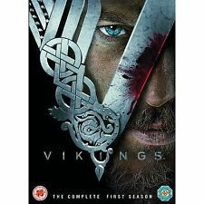 THE VIKINGS COMPLETE SERIES 1 DVD RATED 18 FIRST SEASON