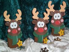Bastelset Bastelpackung Adventskalender Weihnachtskalender Elch Rentier Stern