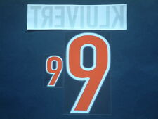 """KLUIVERT NOME+NUMERO REPLICA HOLLAND AWAY OFFICIAL NAMESET """"WC FRANCE 1998"""""""