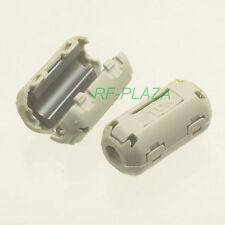 10x TDK Gray-A Φ5mm Cable Clamp Clip RFI/EMI/EMC Noise Filters Ferrite Core Case