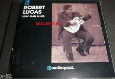 ROBERT LUCAS cd USIN' MAN BLUES moonshine 1 2 Dancin with Mr. Jones Me and Devil