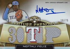 Neftali Feliz, 2011 Topps Triple Threads, G/U Jersey, AUTOGRAPH!!!, 10 of 75