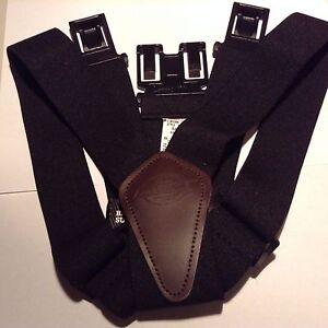 Dickies 38mm Industrial Perry suspender Item # 21DI5300 Black