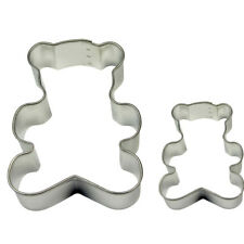 PME TEDDY Cookie & Cake Biscuit Decorating Icing Sugarcraft Cutter 2 Pack