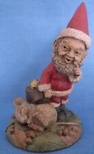 TOM CLARK & TIM WOLFE CAIRN SANTA CHRISTMAS GNOME MOUSE COIN HAND SIGNED FIGURE