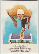 MICHAEL PHELPS Olympics TEAM USA Topps Allen & Ginter's Card GOLD MEDAL GOAT!