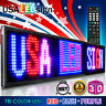 """LED Signs 3 Color RBP 41""""x15"""" Outdoor Programmable Scrolling Message Open Neon"""