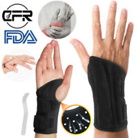New Wrist Brace Support Carpal Tunnel Sprain Arthritis Pain Relief Protector CFR