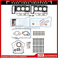 Full Gasket Set Head Bolts Kit For 01-07 Chrysler Dodge 2.7L DOHC V6 EER