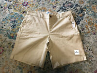 NEW Old Navy Everyday Shorts Inseam 7.5 inches Bermuda style Beige Size 14
