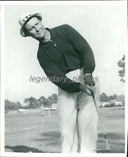 1950s Fred Haas Professional Golfer Original News Service Photo