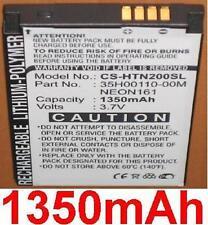 Batterie 1350mAh type 35H00110-00M NEON161 Pour HTC Touch Dual 850