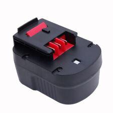 12V 2.0Ah 2000mAh Ni-Cd Battery for Black & Decker Hpb12 Fsb12 Fs120B Drill