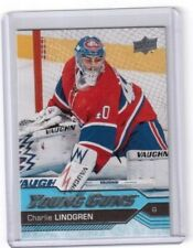 2016-17 Upper Deck Series Two Young Guns Charlie Lindgren Montreal Canadiens