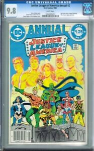 Justice League of America Annual #2 CGC 9.8 WHITE Pages HIGHEST GRADED