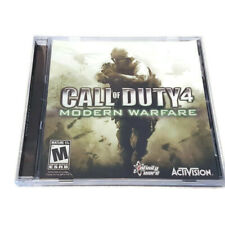 Call Of Duty 4 Modern Warfare PC CD-ROM Game COD4 2007 Activision Shooter
