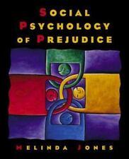 Social Psychology of Prejudice, Melinda Jones, Good Book