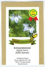 Schwarzkümmel - Bienenweide - Nigella sativa  -  2000 Samen