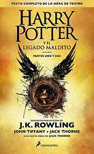 Harry Potter y el Legado Maldito Parts Special Edition 1&2 Script Book 8 Spanish