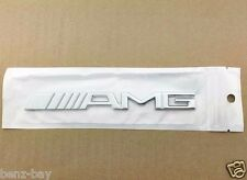 AMG Mercedes Emblem AMG Schriftzug / AMG Chrom Emblem Mercedes AMG Tuning NEU
