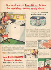 1951vintage AD FRIGIDAIRE Automatic Washer Lifetime  Porcelain Finish  100216