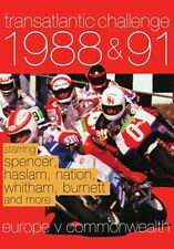 Transatlantic Challenge 1988 - 91 (New DVD) Motorcycle Sport Haslam Whitham etc