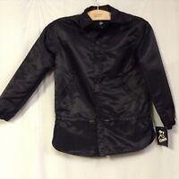 Art Class Girls Black Shirt Jacket Size S