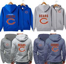 2020 Chicago Bears Hoodie Fleece Football Hooded Sweatshirt Team Jacket
