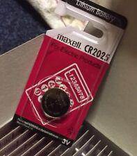 CR2025 car key 2 x Maxell EXTRA LONG LIFE battery, Welding mask battery 40% off!