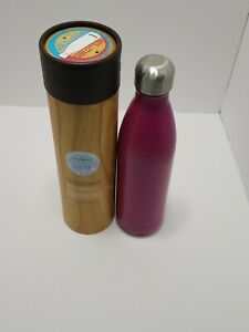 S'well 25oz Insulated Stainless Steel Water Bottle Pomegranate 750ml triple wall