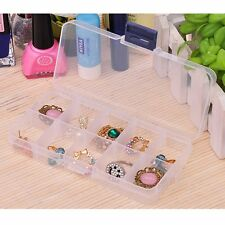 Portable Jewelry Ring Display Organizer Box Tray Holder Earring Storage Case 09