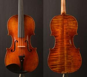 """Oil anti !Italy red! A Stradivari 1721 """"The kruse"""" Copy  violin,open  rich tone"""