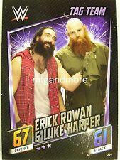 Slam Attax Then Now Forever - #229 Erick Rowan & Luke Harper