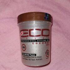 Eco Style Professional Styling Gel Coconut Oil 32oz - Australia Stock