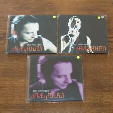 Dave Gahan CD/DVD Single Set 1: Dirty Sticky Floors (2x CD & 1 DVD Set) Rare