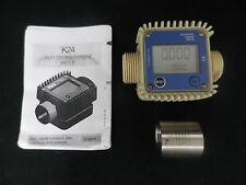 DIESEL / ADD BLUE FUEL BIO FUEL PETROL ETC SMALL DIGITAL FLOW METER