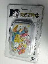 Nintendo 3DS / DSi / DS Lite NEW CASE & STYLUS * MTV RETRO POP