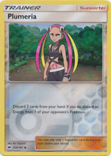 2x Pokemon SM Burning Shadows Plumeria #120 Uncommon REVERSE Holofoil Near Mint