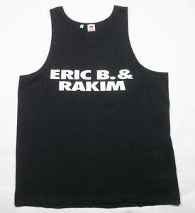 Vintage ERIC B. & RAKIM Don't Sweat The Technique Hip-Hop Rap t-shirt tank top