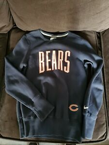 Nike Team Apparel-Women's Sweater-Sweatshirt-Size S-Blue-Bears NFL Football