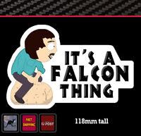Randy Sticker Fits Ford Falcon Vinyl Funny Bumper Decal Window Transfer 4wd