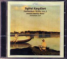 Sigfrid KARG-ELERT Harmonium Works Vol.5 Sonata 1, 2 Abendgefühl CPO CD MICHEL